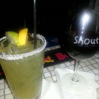 Photo taken at Shout! Restaurant & Lounge by Tyronza M. on 10/7/2012