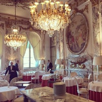 Photo taken at Le Meurice by Lea D. on 10/4/2015