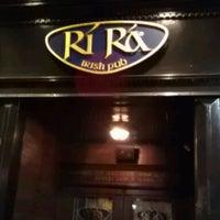 "Photo taken at Rí Rá Irish Pub by Bernadette  ""Berni"" V. on 2/17/2013"