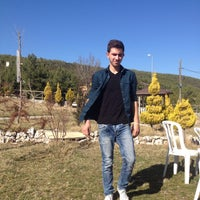 Photo taken at Menteşe Çay Bahçesi by Muammer G. on 2/20/2016
