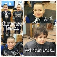 Photo taken at Jayuya Barbershop by Alyssa N. on 4/1/2014