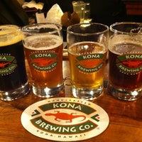 Photo taken at Kona Brewing Co. & Brewpub by Ricardo G. on 7/2/2013