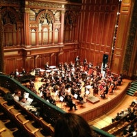 Photo taken at New England Conservatory's Jordan Hall by ..sb... on 3/17/2013