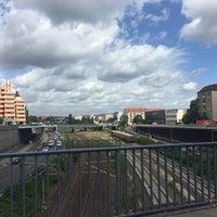 Photo taken at Kaiserdammbrücke by Методи 😉 А. on 8/9/2016