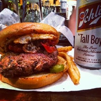 Photo taken at Stella's Hamburgers by Chris H. on 1/6/2013