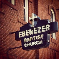 Photo taken at Ebenezer Baptist Church by Chris H. on 12/9/2012
