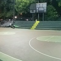 Photo taken at Rucker Park Basketball Courts by ayumi ♤. on 9/6/2016