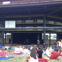 Photo taken at Hollywood Casino Amphitheatre by Nikki H. on 7/21/2013
