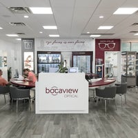 Photo taken at Bocaview Optical by Aaron on 7/11/2016