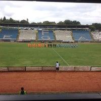 Photo taken at Omladinski stadion   OFK Beograd by Serhat B. on 9/26/2015