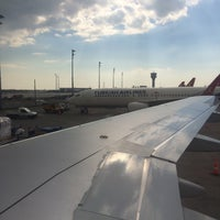 Photo taken at International Terminal Departure by Ilgın Y. on 4/23/2015