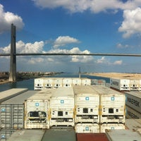 Photo taken at Suez Canal by George-Sebastian S. on 10/27/2012