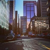 Photo taken at Avenue McGill College / McGill College Avenue by Ninoska E. on 3/29/2016