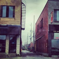 Photo taken at Rue Jean-Talon by Ninoska E. on 10/4/2013