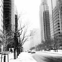 Photo taken at Avenue McGill College / McGill College Avenue by Ninoska E. on 3/24/2016