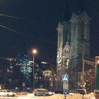 Photo taken at Kaarli kirik by Isabel C. on 12/5/2012