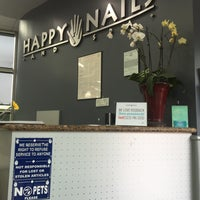 Photo taken at Happy Nails & Spa by Augusta B. on 5/10/2016