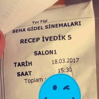 Photo taken at Tire Seha Gidel 3d Sineması by Emine Y. on 3/18/2017
