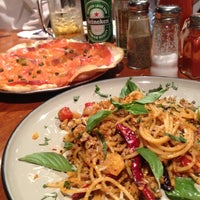 Photo taken at Pizza Pazza by Nongnat P. on 3/14/2013