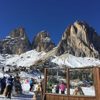Photo taken at Rifugio Passo Sella by Tobias G. on 1/26/2017