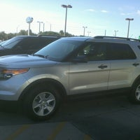 Photo taken at Mullinax Ford by Debbie C. on 11/10/2012