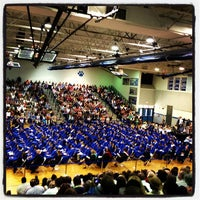 Photo taken at Courtland High School by David M. on 6/1/2013