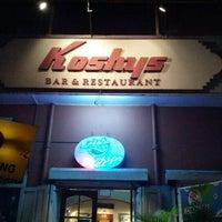 Photo taken at Koshy's by Pavan M. on 11/17/2012