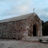 Photo taken at Χερσόνησος Άγιος Νικόλαος by Kostas P. on 2/27/2017
