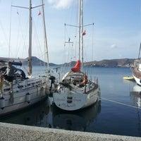 10/28/2012 tarihinde Mihael G.ziyaretçi tarafından Yalıkavak Sahil'de çekilen fotoğraf