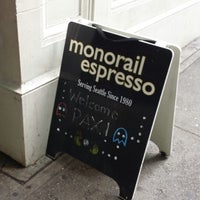 Photo taken at Monorail Espresso by Marcia M. on 8/30/2013