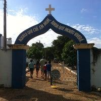 Photo taken at Cemitério by Rodrigo N. on 7/20/2013