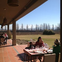 Photo taken at Dominio del Plata Winery by Mariano G. on 8/17/2013