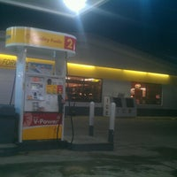 Photo taken at Shell by Bryan B. on 3/23/2013