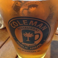 Photo taken at Coleman Public House Restaurant & Tap Room by Roman B. on 5/26/2013