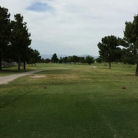 Photo taken at Desert Rose Golf Course by Marshall M. on 5/16/2013