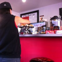 Photo taken at Red Black Cafe by Peruvian R. on 4/6/2013