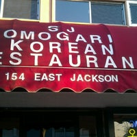 Photo taken at SJ Omogari Korean Restaurant by Glenn Y. on 3/14/2013