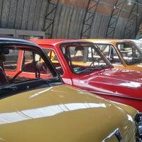 Photo taken at The Bauska Branch of the Riga Motor Museum by Tina L. on 10/4/2015