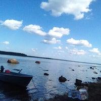 Photo taken at Rum island by Леонид К. on 7/24/2014