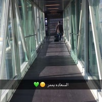 Photo taken at QAIA - Gate 204 by Sara on 1/19/2017