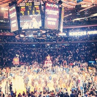 Photo taken at Madison Square Garden by Stephanie H. on 5/8/2013
