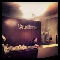 Photo taken at 1. Republic Hotel by GaramT on 12/18/2012
