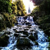 Photo taken at Wasserfall Viktoriapark by Luci W. on 9/18/2012