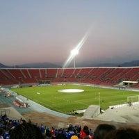 Photo taken at Estadio Nacional Julio Martínez Prádanos by Claudia M. on 2/12/2013