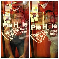 Photo taken at Pie Hole Pizza Joint by Jordan B. on 8/25/2013
