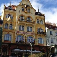 Photo taken at Hotel Romance Puškin by Murat A. on 10/28/2012