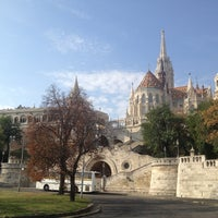 Photo taken at Fisherman's Bastion by Tibor K. on 9/29/2012
