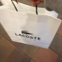 Photo taken at Lacoste Outlet by Nikita D. on 2/24/2014