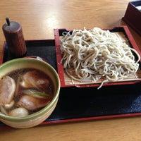 Photo taken at 蕎麦打ち肴屋魚勝 by Tsuyoshi S. on 7/5/2013