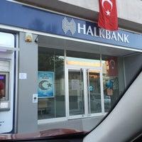 Photo taken at Halkbank by Ayşe Y. on 8/19/2016